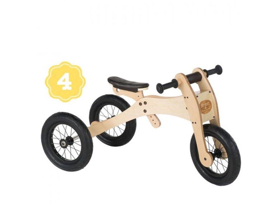 4 in 1 loopfiets- wood brown