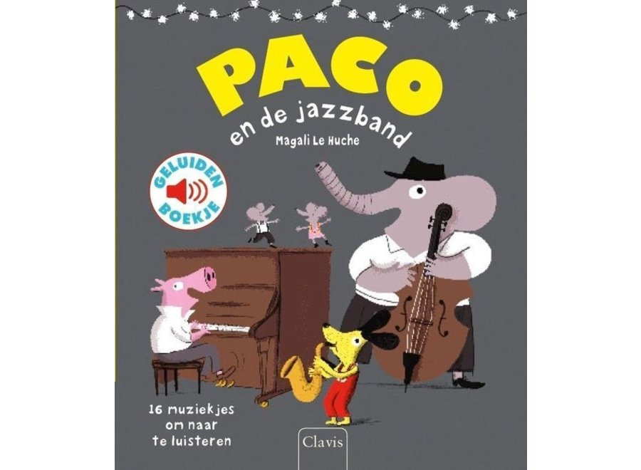 Paco en de jazzband (geluidenboek)