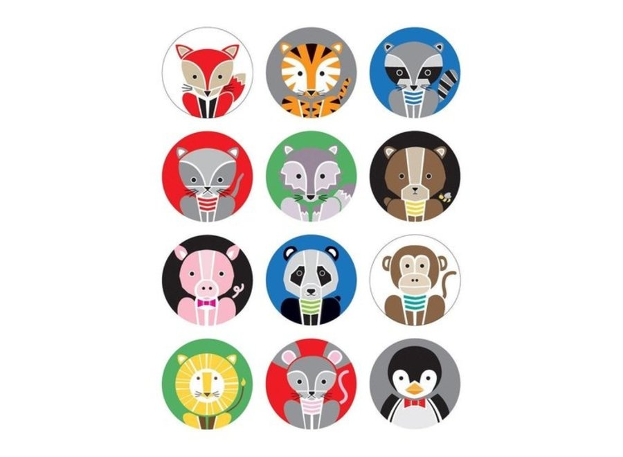 Mini memory - Geometric animals