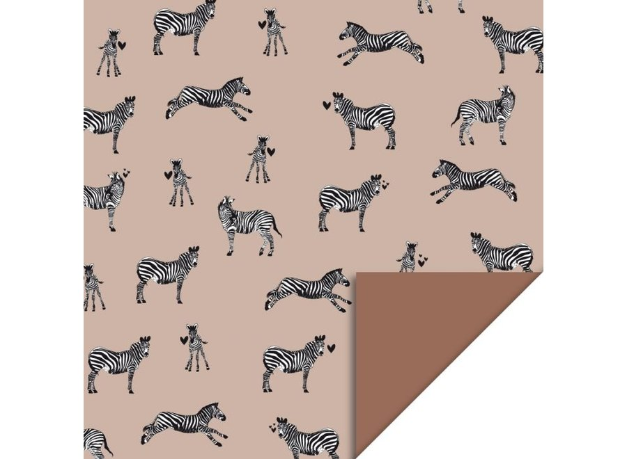 Zebra - Pink (70 cm x 3 mtr)