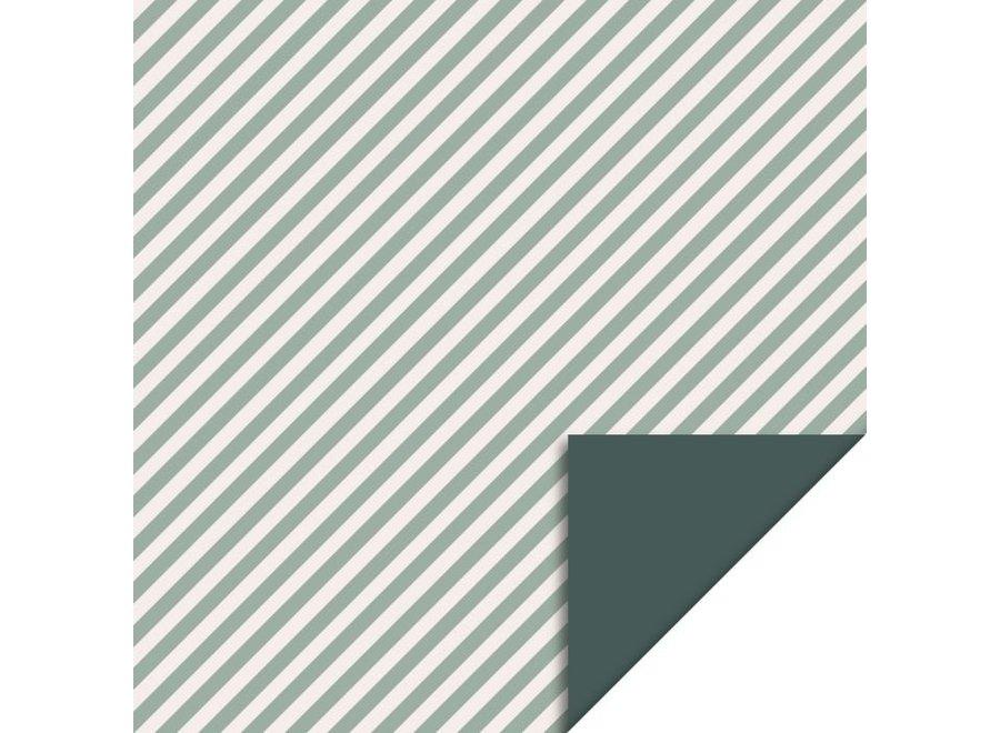 Stripe Diagonal - Blue (70 cm x 3 mtr)