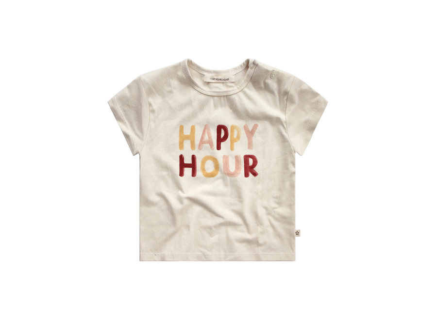 Happy Hour Loose Tee - Ivory