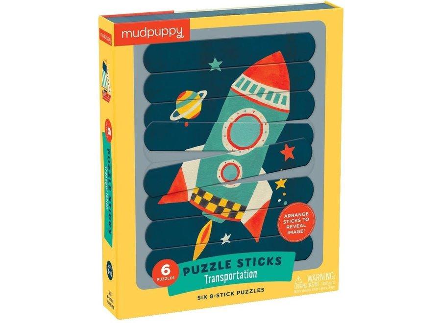 Puzzle Sticks - Transportation