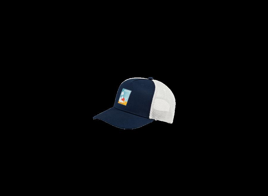 Wattle Cap navy one size