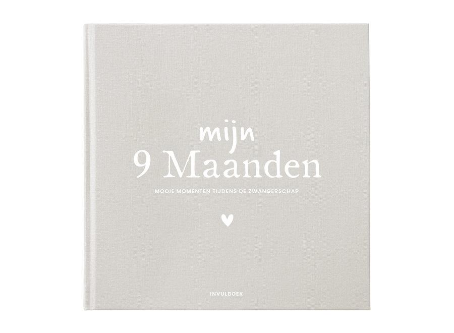 Mijn 9 Maanden invulboek Linnen