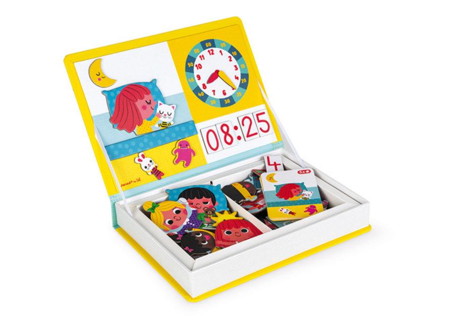 Magneetboek - Klokkijken