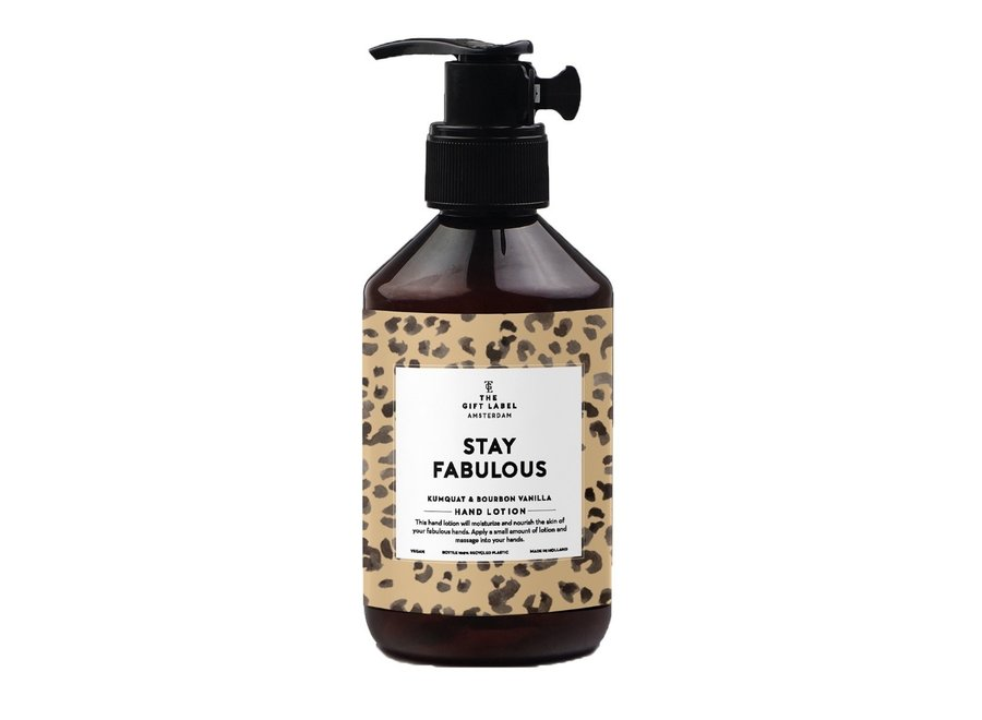 Hand Lotion - Stay Fabulous