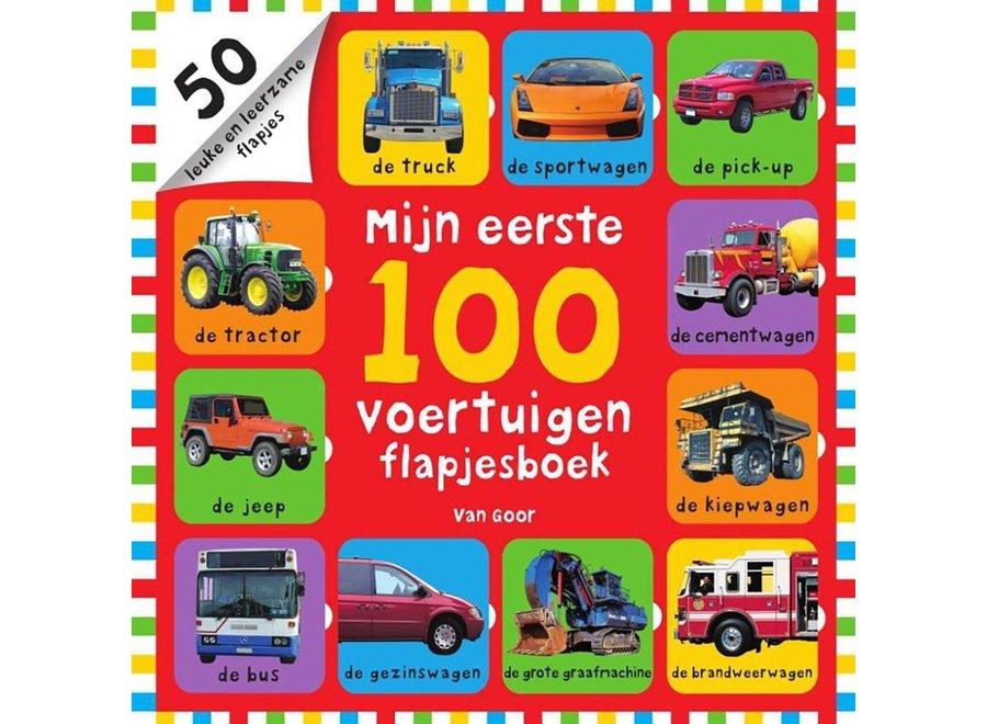 Mijn eerste 100 voertuigen (flapjesboek)