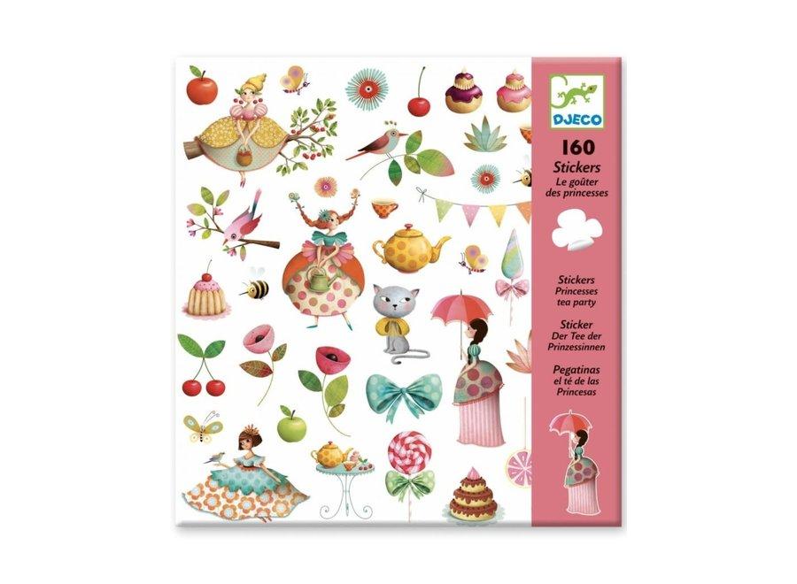 Stickers - Prinsessen theekransje