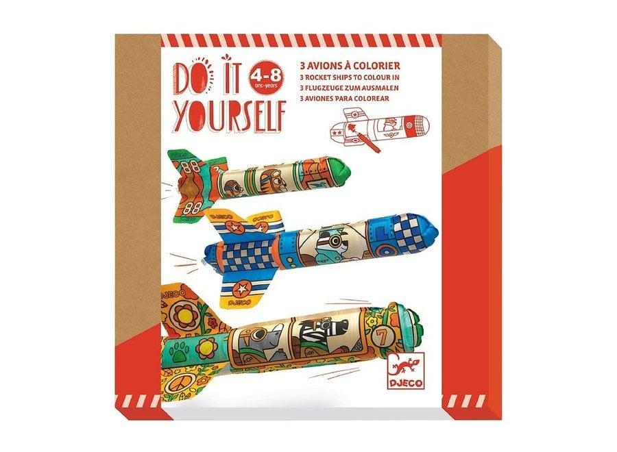 Knutselpakket - Vliegtuigen maken