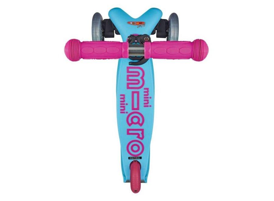 Mini Micro step Deluxe - turquoise/roze