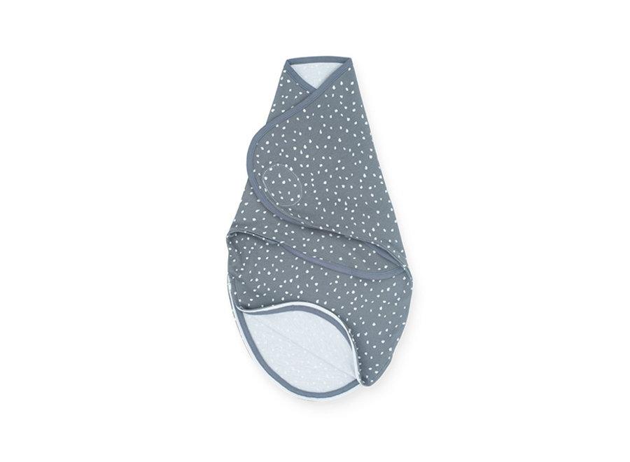 Slaapzak wrapper 0-3 maanden Spickle grey