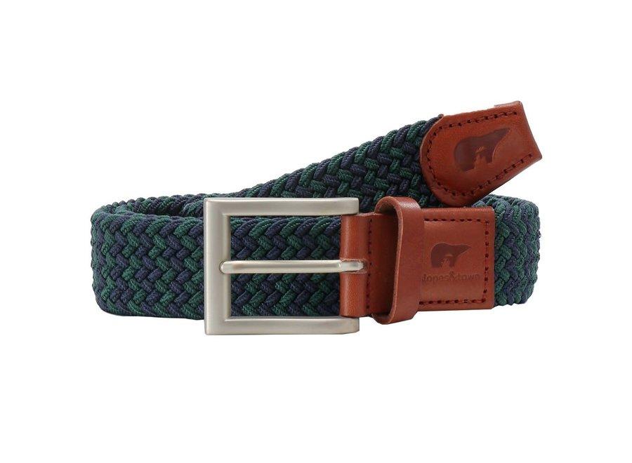 Riem Jordan   Navy blue and sage green