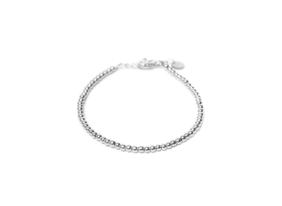 Round Ball Bracelet Silver