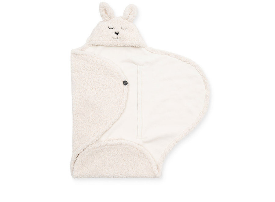 Wikkeldeken Bunny off-white