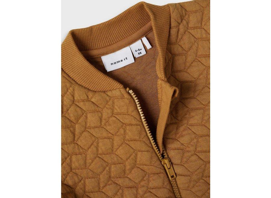 Iller quilt jacket - Cumin
