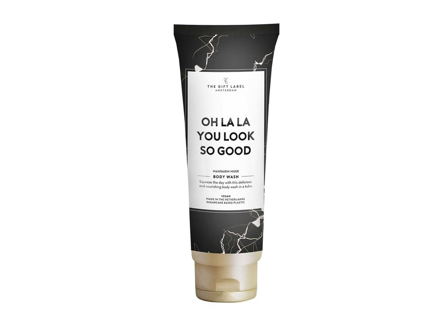 Body Wash tube - Oh lala you look so good