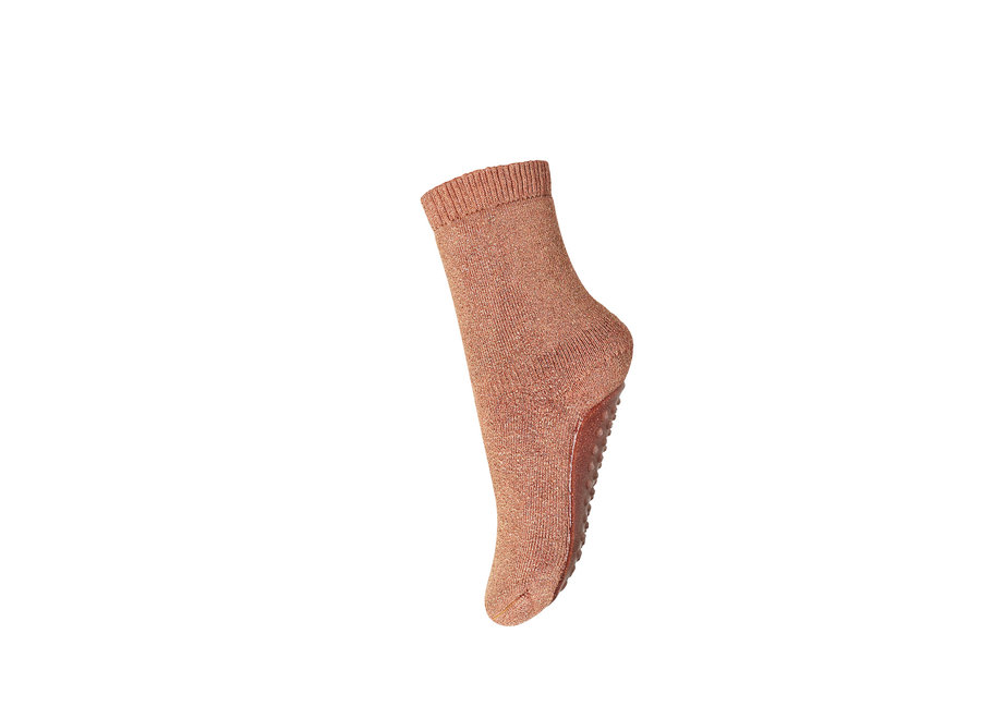 Celina socks with anti-slip - Canyon Rose