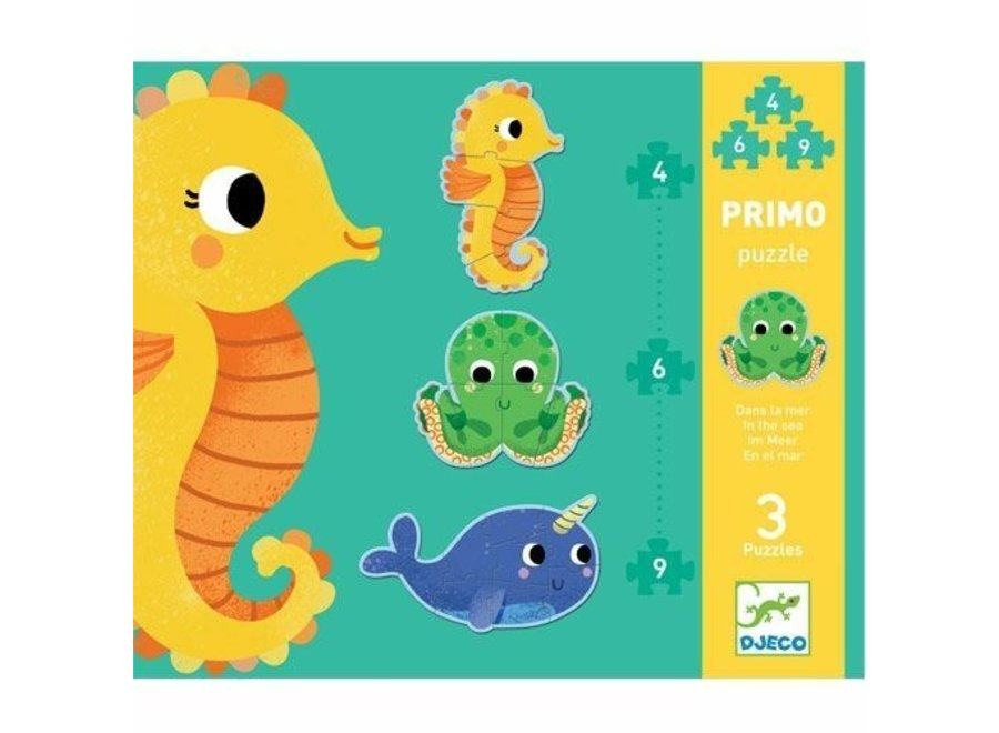 Puzzel in de zee (4,6 en 9 st)