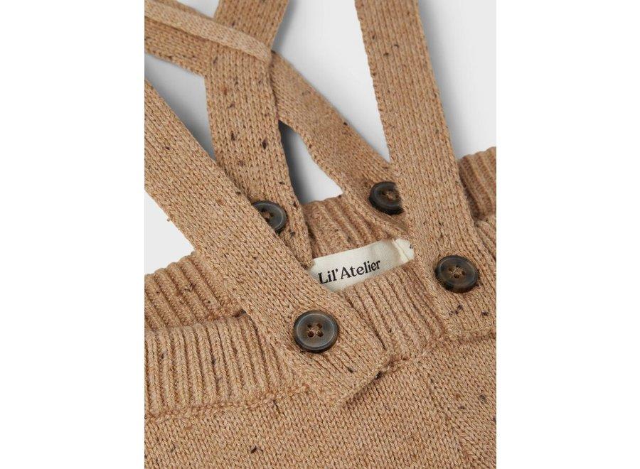 Mebal Knit pants - Tabacco Brown
