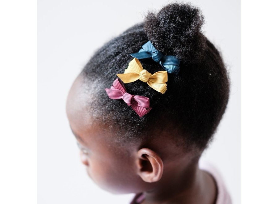Mini florence bow clips