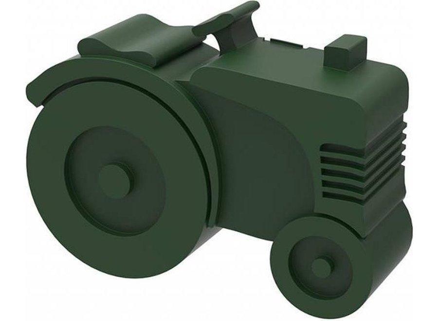 Lunchbox tractor - Dark green