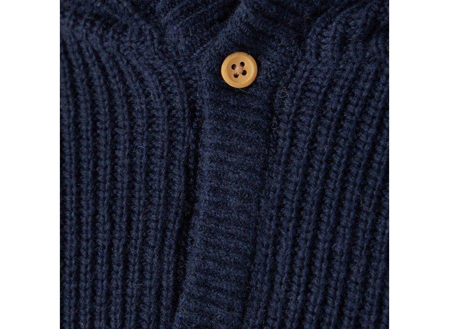 Jacket knit Nafan - Dark Sapphire