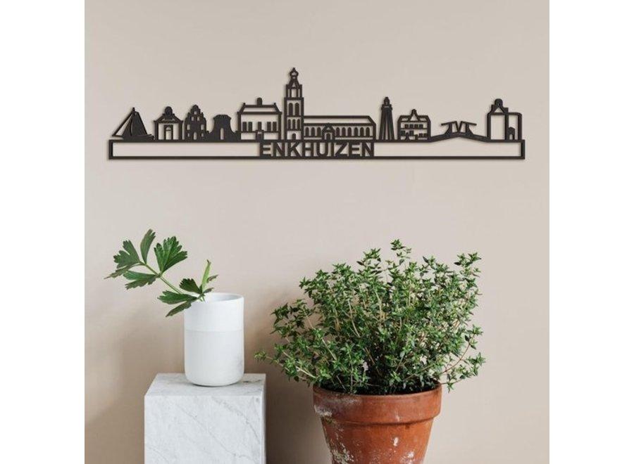 Skyline Enkhuizen - MDF Zwart - 90 cm