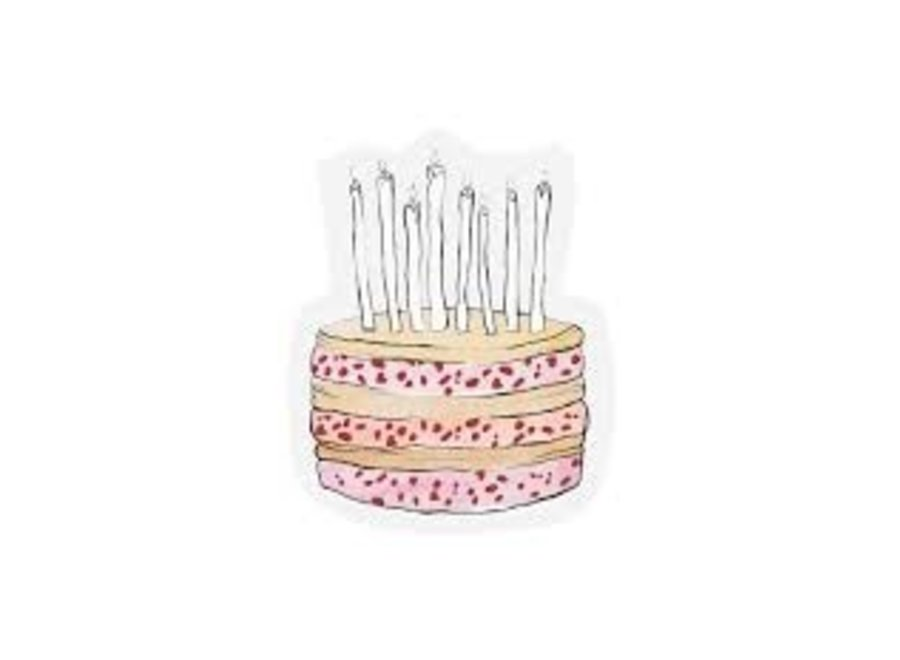 Cut-out card - Cake