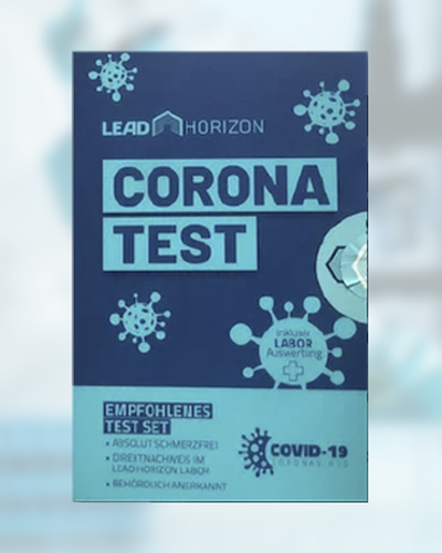 Lead-horizon corona test-kit