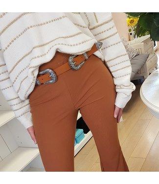 Buckle Belt Camel