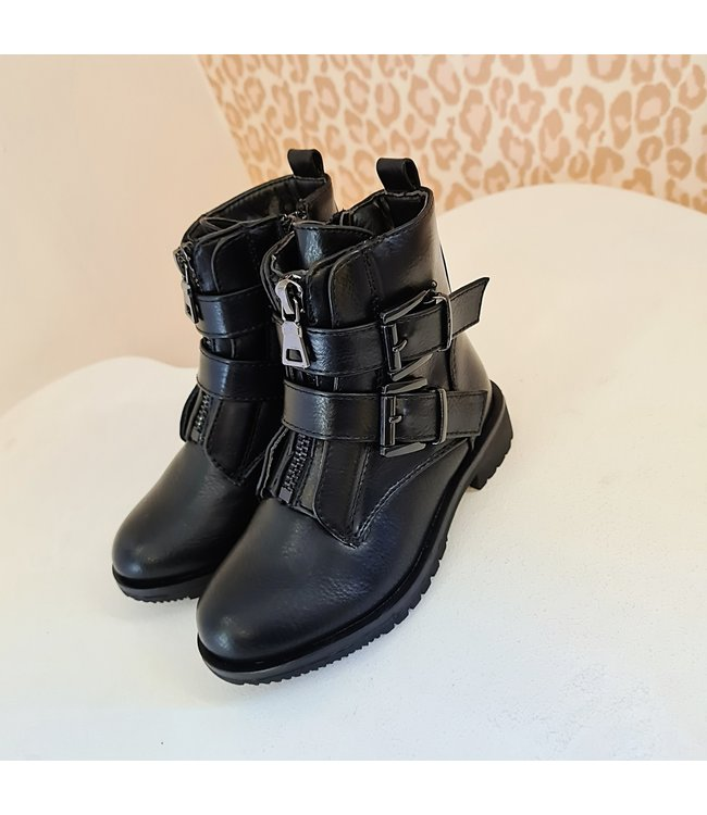 GIRLS Boots Floor Black