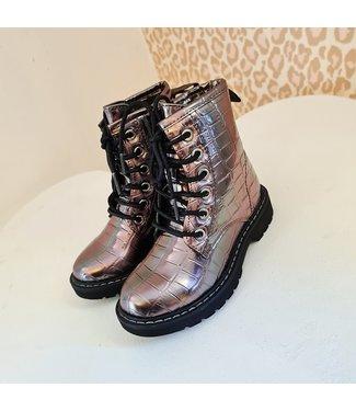GIRLS Metallic Boots Vera