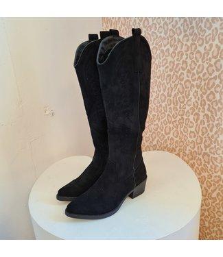 Cowboy Boots High Black