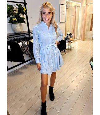 Dress Broderie Blue