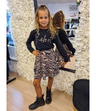 GIRLS Top Rebel Zebra
