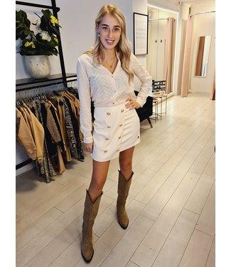 DELOUSION Skirt Isea Creme
