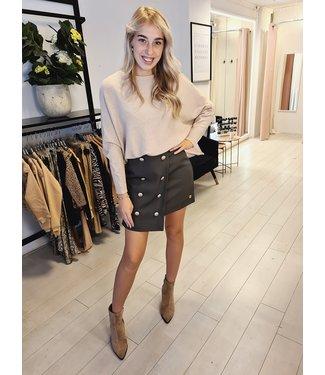 DELOUSION Skirt Isea Green