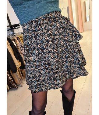 LOFTY MANNER Skirt Zoleste Blue/Brown