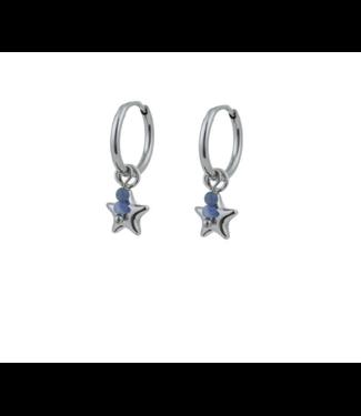 Go Dutch Label Earrings Little Star Silver