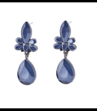 Go Dutch Label Earrings Chiara Blue