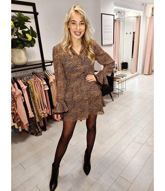 LOFTY MANNER Skirt Zoleste Pink- Brown