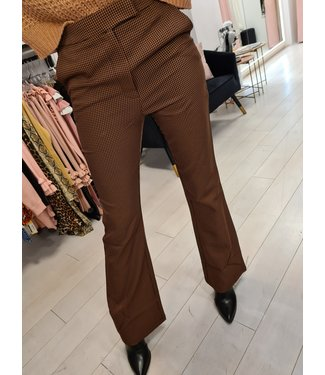 LOFTY MANNER Trouser Verena Pink-Black
