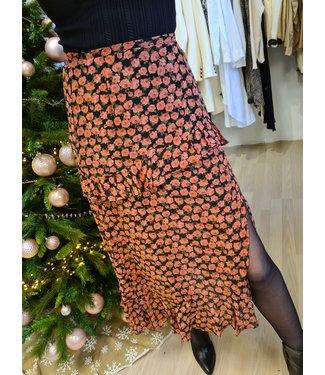 LOFTY MANNER Skirt Heidi Red Flower