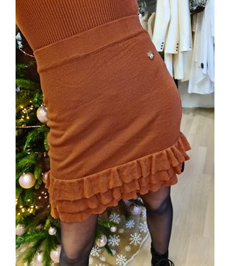 DELOUSION Skirt Gio Brown