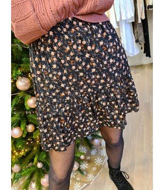 LOFTY MANNER Skirt Myrta Black-Orange