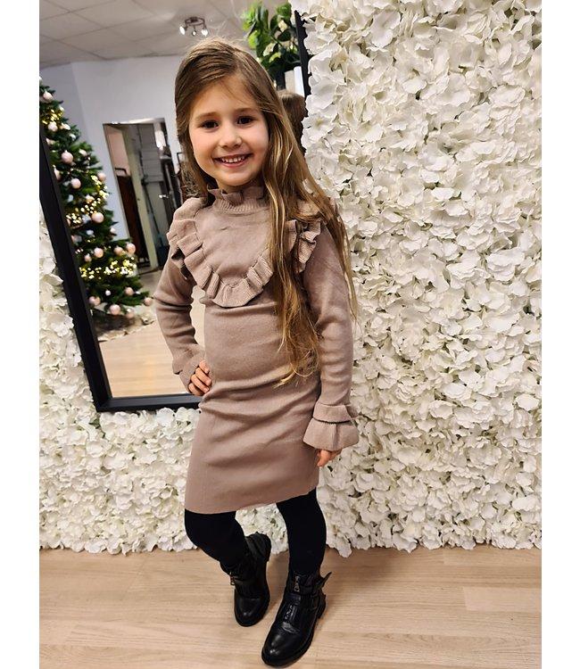 GIRLS Dress Hailey Beige