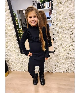 GIRLS Dress Hailey Black