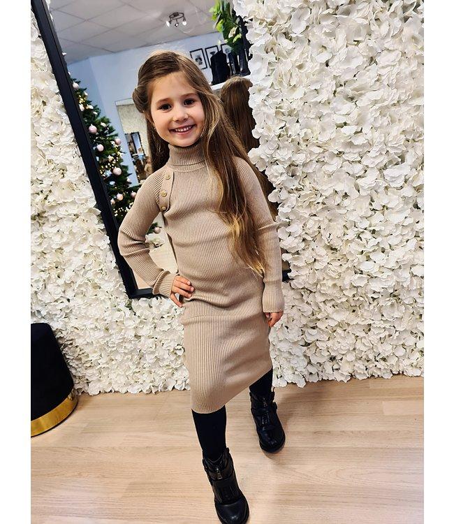 GIRLS Dress Mila Beige
