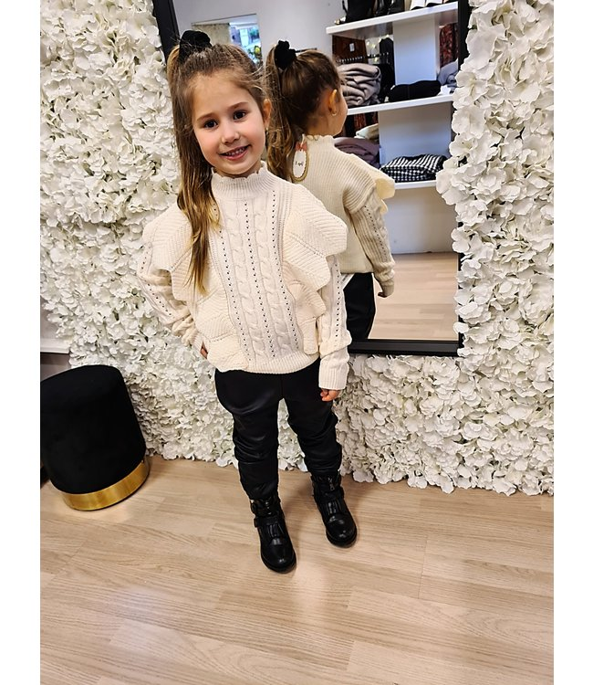 GIRLS Sweater Quinty Creme